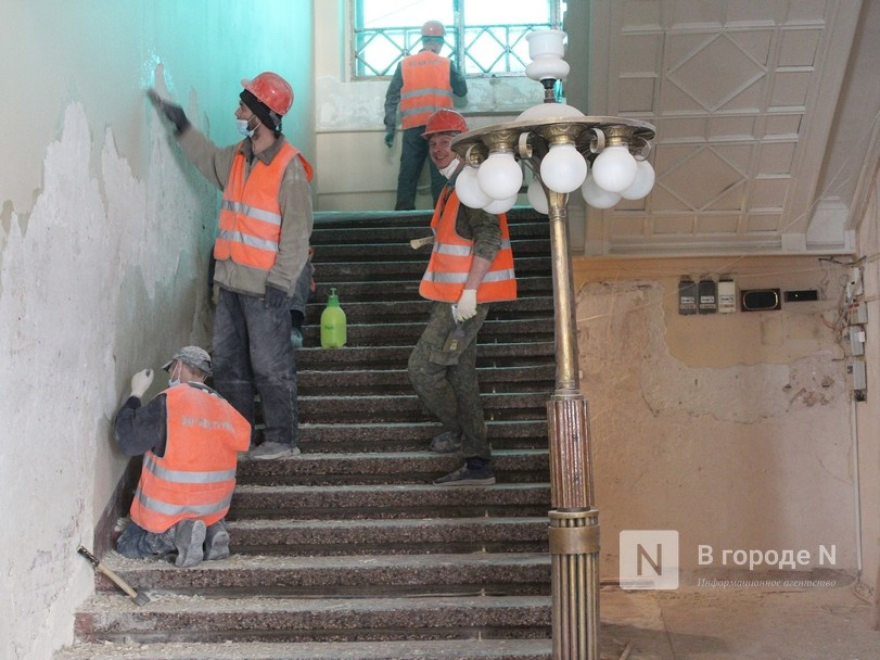 Единство двух эпох: как идет реставрация нижегородского Дворца творчества - фото 17